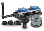 Jergens Workholding Solutions - Standard components like toggle screws and T bolts to vises and quick change fixture  systems like Ball Lock and ZPS.